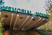 World's creepiest mausoleum where rotting corpses left in disintegrating caskets on metal shelves goes up for sale<br /> <br /> A neglected mausoleum whose inhabitants had been left to rot has finally opened its doors - and what lies beneath is as creepy as expected.<br /> <br /> These pictures were taken inside Memorial Mound, Kentucky, an underground burial site opened by a former gravedigger who was fascinated with the after life.<br /> <br /> It was created by Clyde Booth and opened in 1992 but in 2000, went out of business and was closed to relatives of the dead buried inside.<br /> <br /> This left the corpses unkempt until they were reportedly discovered rotting in bags inside disintegrating caskets when local authorities reopened the site in 2014. The site is now listed for sale - not including the corpses that currently occupy the space.<br /> <br /> As can be seen in these pictures, 14 years of neglect has left the skeletons dirty and brown in colour as the bones seem to have been thrown into the blue plastic bags.<br /> <br /> Coffins were left to decompose and were placed in unusual structures metres above the ground.<br /> <br /> Floors, walls and curtains within the viewing sections were dirty and ripped where they would once be pristine for visiting relatives. And the warehouse in which the bodies were prepared had materials and chemicals such as kerosene strewn across the floor.<br /> <br /> Booth originally opened the site because he was sick of seeing unkempt graves left to become ruins.<br /> <br /> His idea was drawn from ancient Indian burial traditions, but updated with modern technology to include video information on those inside.<br /> <br /> The facility's foundation was dug 8ft below ground level with a large interior room serving as a chapel. Relatives could not enter the warehouse-like room that housed the caskets, but could place items and floors on an interior marble wall. Booth placed the caskets on racks in the wings up to 10ft high 