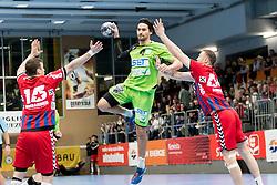 11.03.2017, Halle Hollgasse, Wien, AUT, HLA, SG INSIGNIS Handball WESTWIEN vs HC Fivers WAT Margareten, Oberes Playoff, 5. Runde, im Bild Erwin Feuchtmann Perez (SG INSIGNIS Handball WESTWIEN) // during Handball League Austria, 5 th round match between HC Fivers WAT Margareten and SG INSIGNIS Handball WESTWIEN at the Halle Hollgasse, Vienna, Austria on 2017/03/11, EXPA Pictures © 2017, PhotoCredit: EXPA/ Sebastian Pucher