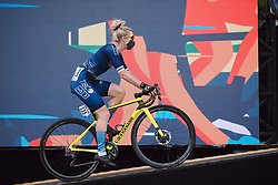 Nina Kessler (NED) at the 2020 La Course By Le Tour with FDJ, a 96 km road race in Nice, France on August 29, 2020. Photo by Sean Robinson/velofocus.com