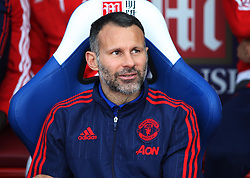 Manchester United assistant manager Ryan Giggs before the match  - Mandatory byline: Jack Phillips/JMP - 07966386802 - 31/10/2015 - SPORT - FOOTBALL - London - Selhurst Park Stadium - Crystal Palace v Manchester United - Barclays Premier League