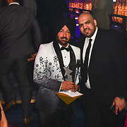 Malkit Singh receive an award at the BritAsiaTV Presents Kuflink Punjabi Film Awards 2019 at Grosvenor House, Park Lane, London,United Kingdom. 30 March 2019