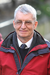 © Licensed to London News Pictures . FILE PHOTO DATED 14 January 2013 . Manchester , UK . Former musical director of Chetham's School , MICHAEL BREWER , pictured outside Manchester Crown Court . Michael Brewer has been handed a six year sentence for sexually abusing a former pupil and Hilary Brewer has been jailed for 21 months for indecent assault today (26th March) . Photo credit : Joel Goodman/LNP