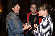 CARAGH THURING; NICOLAS DESHAYES; KATE MACGARRY, TenTen. The Government Art Collection/Outset Annual Award. Champagne reception to announce the inaugural artist Hurvin Anderson and unveil his 2018 print. Locarno Suite, Foreign and Commonwealth Office. SW1. 2 October 2018