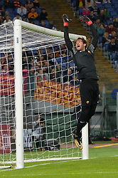 October 25, 2017 - Italy - Alisson Becker during the Italian Serie A football match between A.S. Roma and F.C. Crotone at the Olympic Stadium in Rome, on october 25, 2017. (Credit Image: © Silvia Lor/Pacific Press via ZUMA Wire)