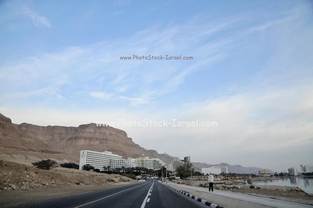 Israel, Dead Sea, Hotel area