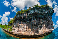 Easo cliffs, Lifou (island), Loyalty Islands, New Caledonia