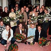 Nieuwjaarsreceptie 1998 gemeente Huizen, Uitreiking Huizer Sportprijzen