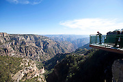 Divisadero lookout, Copper Canyon, Chihuahua, Mexico