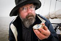 © David Trozzo-- Annapolis, Maryland, last day of oyster season aboard the Skipjack Helen Virginia