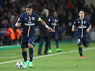 Paris Saint-Germain Thiago Silva (captain) during the Champions League match between Paris Saint-Germain and Chelsea at Parc des Princes, Paris, France on 17 February 2015. Photo by Phil Duncan.