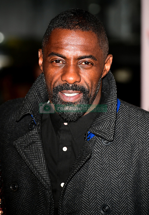 Idris Elba attending the 100 Streets UK Premiere at the BFI Southbank, London.