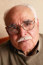 Portrait of an elderly man,