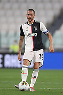 Juventus's Italian defender Leonardo Bonucci during the Serie A match at Allianz Stadium, Turin. Picture date: 26th June 2020. Picture credit should read: Jonathan Moscrop/Sportimage