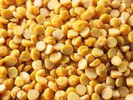 Whole un-cooked Chana Dahl Beans - stock photos