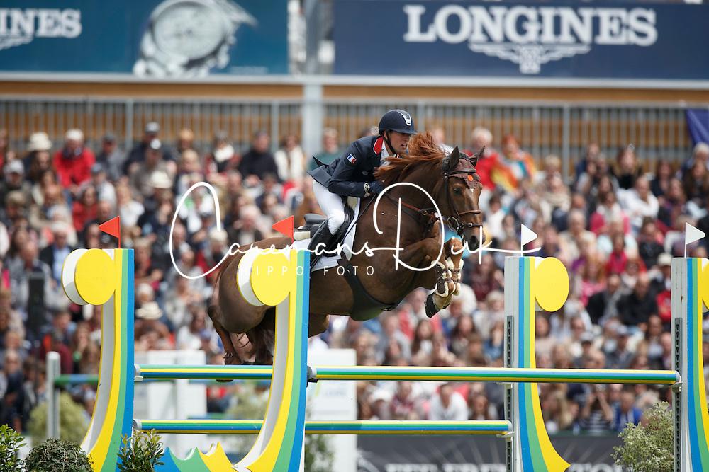 Delestre Simon, (FRA), Ryan Des Hayettes<br /> Furusiyya FEI Nations Cup presented by Longines<br /> Longines Jumping International de La Baule 2015<br /> © Hippo Foto - Dirk Caremans<br /> 15/05/15