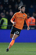 Barnet midfielder Dan Sweeney (26) during The FA Cup fourth round match between Barnet and Brentford at The Hive Stadium, London, England on 28 January 2019.