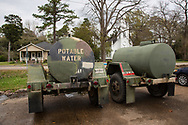 Water provided to residents in St. Jospeh LA after lead was found in the town's water. Gov. John Bell Edwards made an emergency health proclamation on December 16, 2016, enabling a fast-tracked replacement of St. Joseph's water system after lead was found in the water.