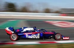February 18, 2019 - Barcelona, Catalonia, Spain - the Toro Rosso of Daniel Kvyat during the Formula 1 test in Barcelona, on 18th February 2019, in Barcelona, Spain. (Credit Image: © Joan Valls/NurPhoto via ZUMA Press)