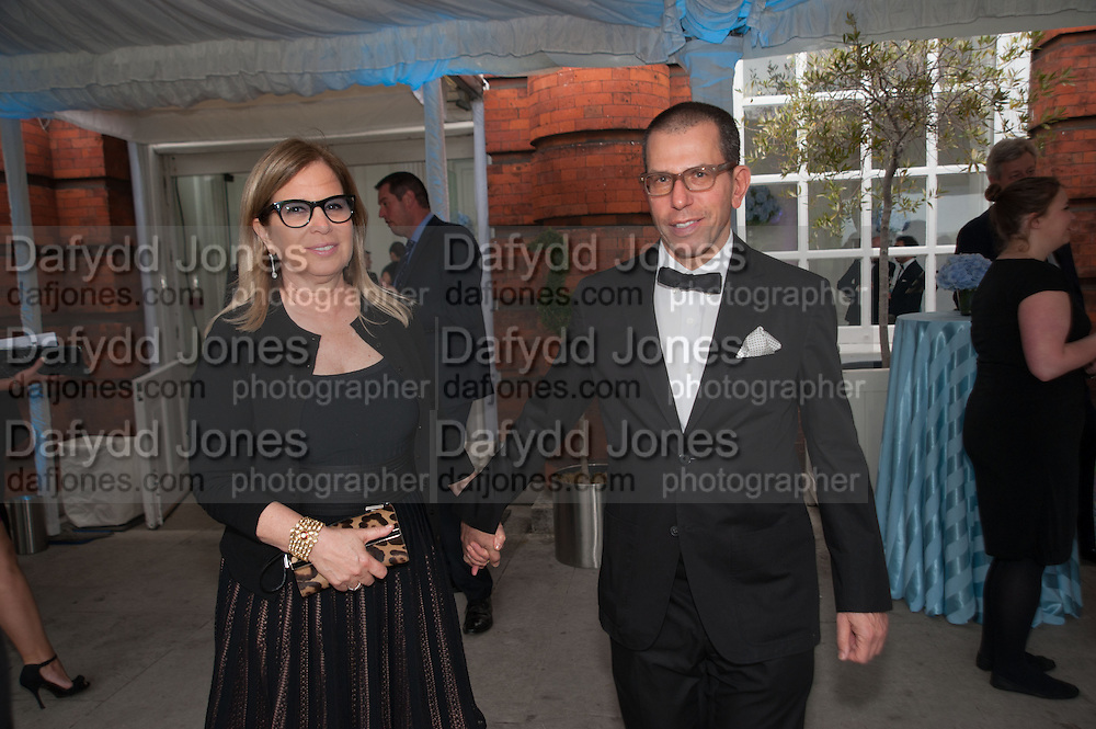 RONNIE NEWHOUSE; JONATHAN NEWHOUSE, English National Ballet  evening of art, ballet and live performance inspired by Swan Lake, The Orangery, Kensington Palace London.  27 June 2012