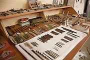Drills & tools. Pick Up Sticks Enterprises, Studio & Workshop of Architect & Artist Christopher Dukes, Kingsford, Sydney, New South Wales, Australia.