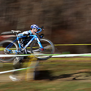 Lewis Gaffney in action during the Cyclo-Cross, Supercross Cup 2013 UCI Weekend at the Anthony Wayne Recreation Area, Stony Point, New York. USA. 24th November 2013. Photo Tim Clayton