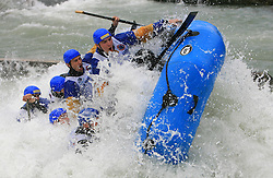 Cetina of Croatia at Euro Cup 2009 R6 Rafting in TT & H2H and Slovenian National Championship 2009, on April 4, 2009, in Tacen, Ljubljana, Slovenia. (Photo by Vid Ponikvar / Sportida)