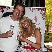 NLD/Amsterdam/20140522 - Lancering Aspire soft drink, Tom Vermeer en Sophia de Boer