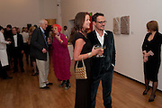 SHEBAH RONAY; JONATHAN YEO, Royal Academy Schools Annual dinner and Auction 2012. Royal Academy. Burlington Gdns. London. 20 March 2012.