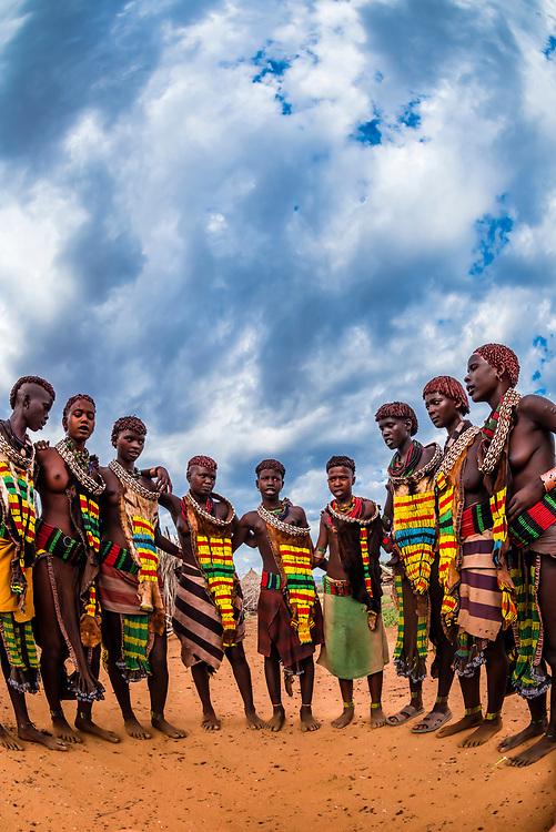 Hamer tribe, Omo Valley, Ethiopia.