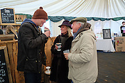 SIMON OAKES; BARONESS BAMFORD; BARON BAMFORD The Heythrop Hunt Point to Point. Cocklebarrow. 24 January 2016