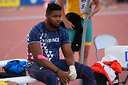 Earwyn Abdou (FRA) competes in Hammer Throw Men during the IAAF World U20 Championships 2018 at Tampere in Finland, Day 4, on July 13, 2018 - Photo Julien Crosnier / KMSP / ProSportsImages / DPPI