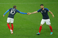 Kylian MBAPPE (FRA), Olivier GIROUD (FRA) during the FIFA Friendly Game football match between France and Republic of Ireland on May 28, 2018 at Stade de France in Saint-Denis near Paris, France - Photo Stephane Allaman / ProSportsImages / DPPI