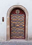 Door. Kastelruth/Castelrotto is a comune in Südtirol/South Tyrol/Alto Adige, in the Dolomites, Italy, near Bolzano and Seiser Alm (Alpe di Siusi). After Austria lost World War I, its South Tirol (Südtirol) became Italy's Alto Adige. German is the most spoken language in Kastelruth. The Dolomites were declared a natural World Heritage Site (2009) by UNESCO.