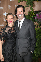 February 20, 2019 - Beverly Hills, CA, USA - LOS ANGELES - FEB 20:  Amy Smart, Carter Oosterhouse at the Global Green 2019 Pre-Oscar Gala at the Four Seasons Hotel on February 20, 2019 in Beverly Hills, CA (Credit Image: © Kay Blake/ZUMA Wire)