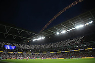 a general view of the match. EFL Cup Final 2017, Manchester Utd v Southampton at Wembley Stadium in London on Sunday 26th February 2017. pic by Andrew Orchard, Andrew Orchard sports photography.