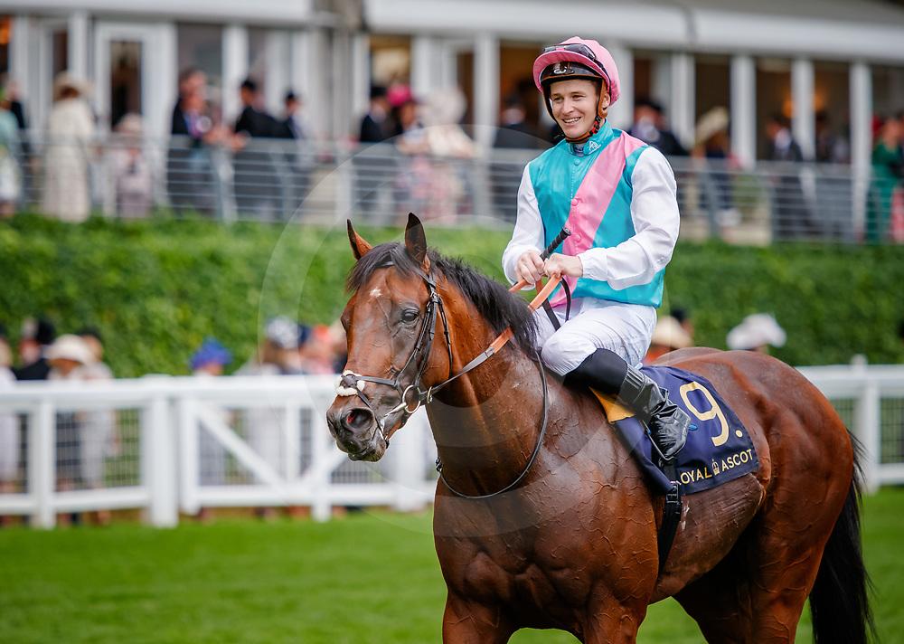 Expert Eye  (James McDonald) wins The Jersey Stakes Gr. 3 at Royal Ascot, 20/06/2018, photo: Zuzanna Lupa