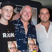 NLD/Rotterdam/20160914 - Boekpresentatie Gijp, Nicky van der Gijp, , Rene van der Gijp en Sandy van der Gijp