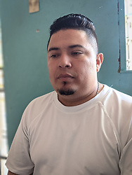 José Abelino Cedillo in Olanchito prison, Yoro, Honduras.