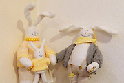 Easter in Southern Styria, Austria. Easter bunnies.
