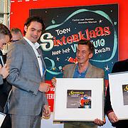 NLD/Amsterdam/20121113 - Presentatie DE Sinterklaasboekjes 2012, Herman Finkers en Carll Cneut