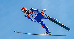 28.01.2017, Casino Arena, Seefeld, AUT, FIS Weltcup Nordische Kombination, Seefeld Triple, Skisprung, im Bild Bjoern Kircheisen (GER) // Bjoern Kircheisen of Germany in action during his Competition Jump of Skijumping of the FIS Nordic Combined World Cup Seefeld Triple at the Casino Arena in Seefeld, Austria on 2017/01/28. EXPA Pictures © 2017, PhotoCredit: EXPA/ JFK