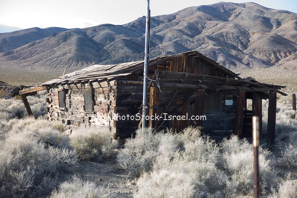 Garlock Ghost Town, Kern County, California. (California Historical Landmark #671)