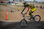 #212 (PETERSONE Vineta) LAT at Round 3 of the 2020 UCI BMX Supercross World Cup in Bathurst, Australia.