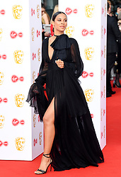 Rochelle Humes attending the Virgin Media BAFTA TV awards, held at the Royal Festival Hall in London. Photo credit should read: Doug Peters/EMPICS