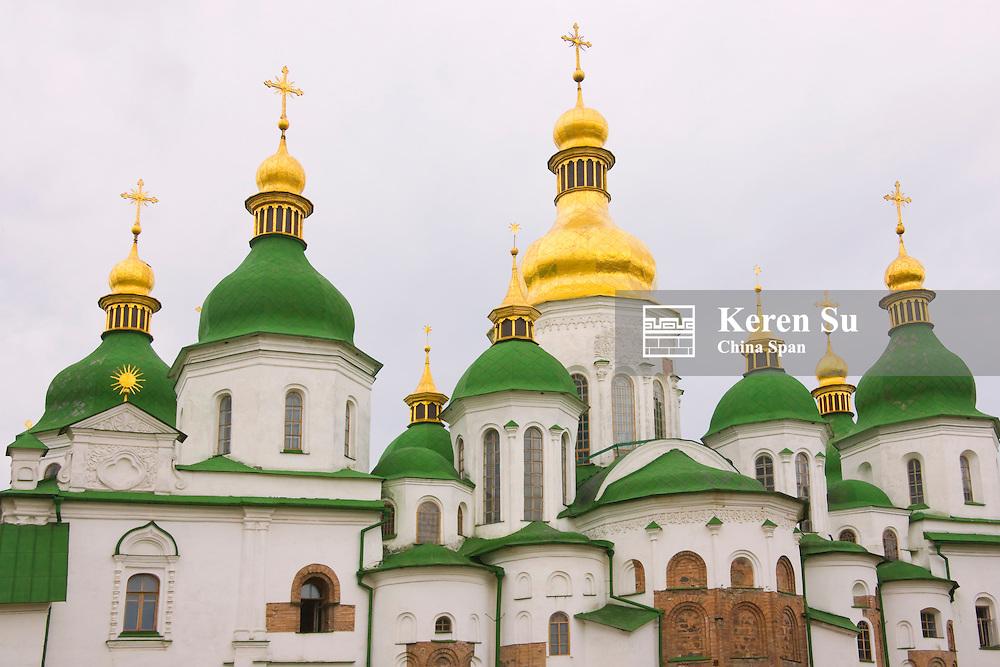 Saint Sophia Cathedral, Kiev, Ukraine, Europe