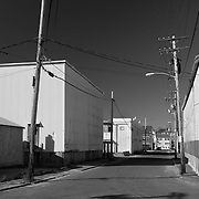 """Commercial Street bisects a neighborhood in Gloucester, Massachusetts called """"The Fort."""""""