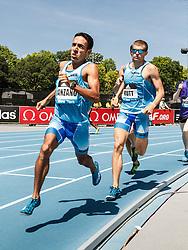 adidas Grand Prix Diamond League Track & Field: Men's 800m, Leo Manzano, USA
