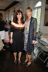 Left to right, CAMILLA GUINNESS and CYNTHIA CONRAN at a lunch in aid of African Solutions To African Problems held at Il Bottaccio, 9 Grosvenor Place, London on 20th May 2008.<br />