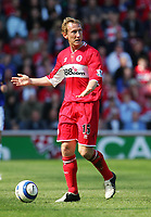 Photo: Andrew Unwin.<br />Middlesbrough v Everton. The Barclays Premiership. 29/04/2006.<br />Middlesbrough's Ray Parlour.