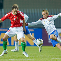 Friendly football match between Hungary and Russia held in Gyor, Hungary. Wednesday, 03. March 2010. ATTILA VOLGYI